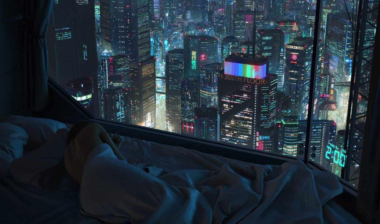 cyberpunk, skeor, tony, квартира, live, playground, budto, взлёт