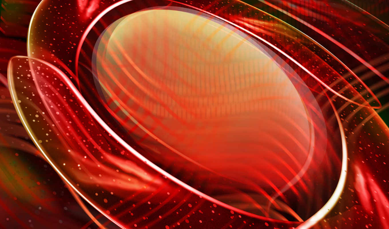 овал, красный, виде, полуокружности, computer, desktop, точки, линии, могут,