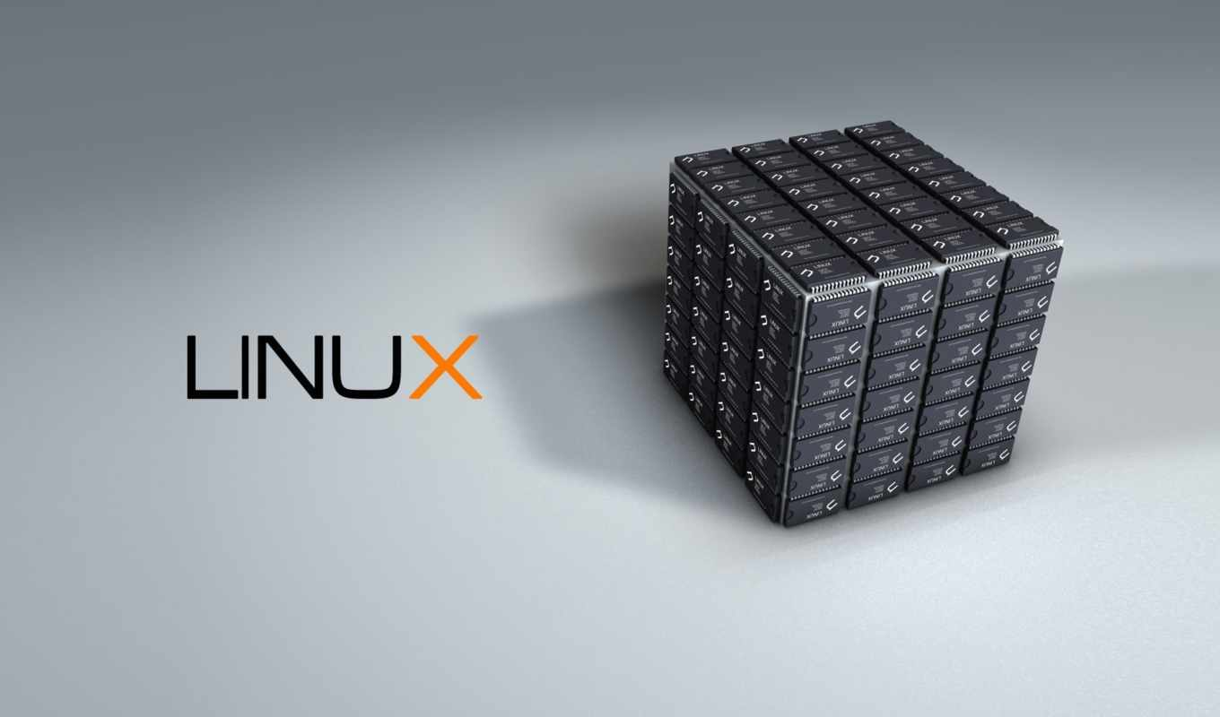 linux, cube, tech, chip
