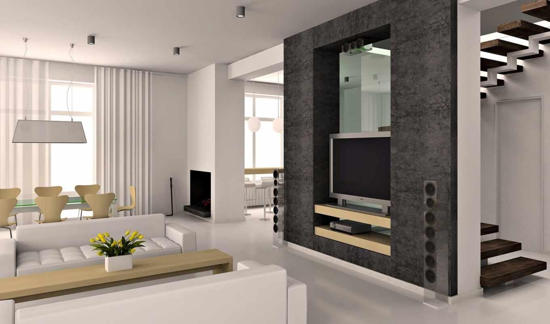 rumah, вид, minimalis, desain, gambar, lantai, дарьи, foto, диван, atau, нравится, колонки, anda, телевизор,