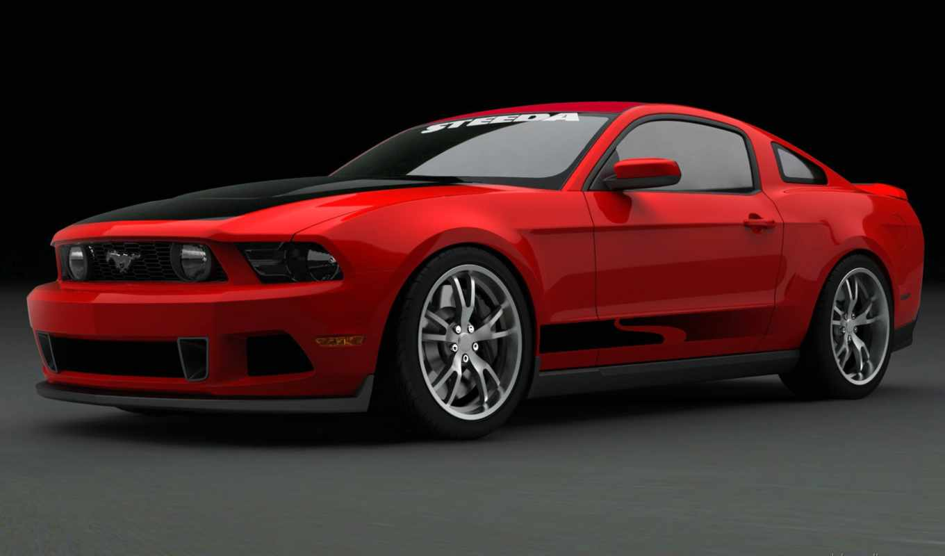 ford, mustang, red, shelby,