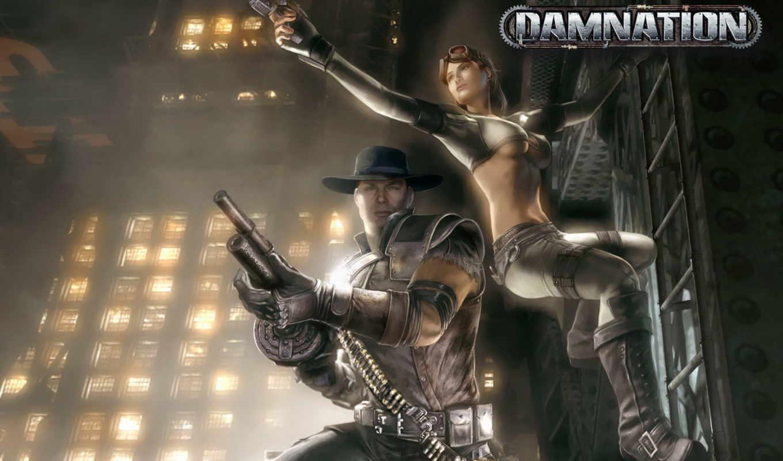 damnation, video, игры, прохождение, game, игре,