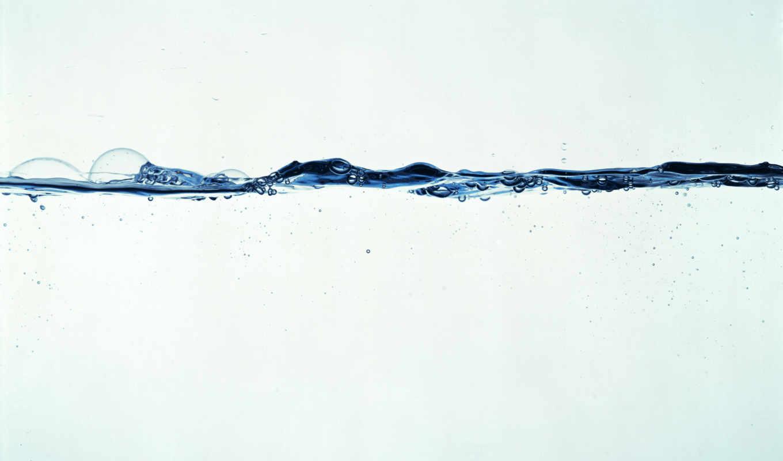 вода, пузыри, бульбачки, линия, iphone, desktop,