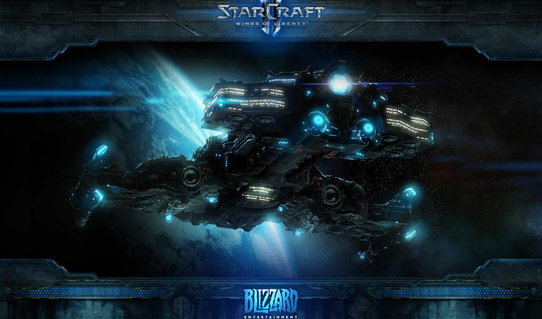 starcraft, крейсер, терран, космический, боевой, картинка, sc,