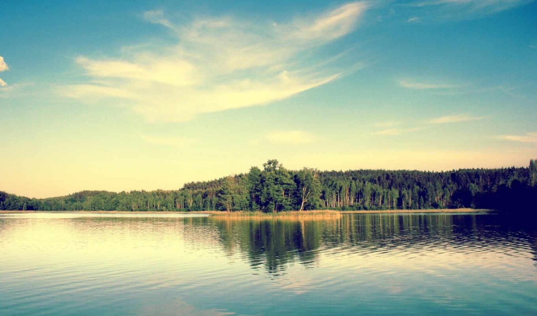 отрадное, озеро, деревня, озера, берегу, коттедж, приозерского,