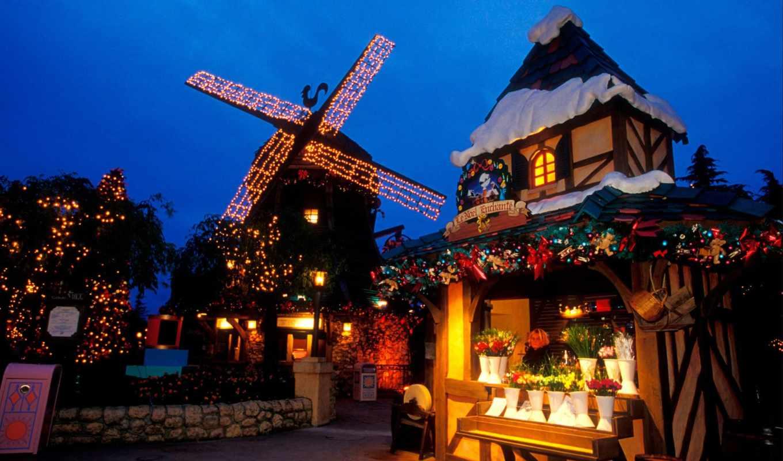christmas, disneyland, disney, wallpapers, night,
