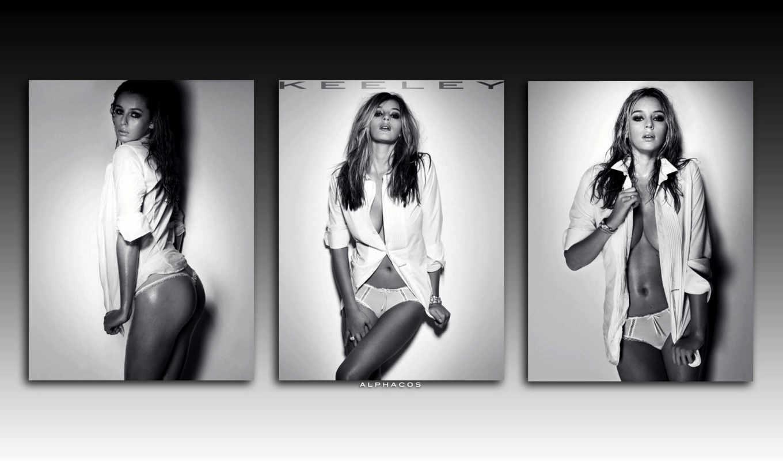 красивых, девушек, подборка, чёрно, white,