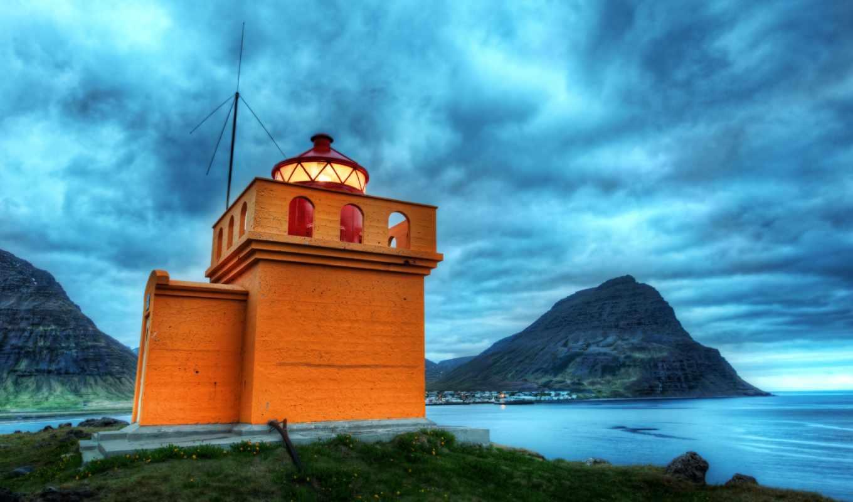 iceland, lighthouse, mac, lighthouses, free,