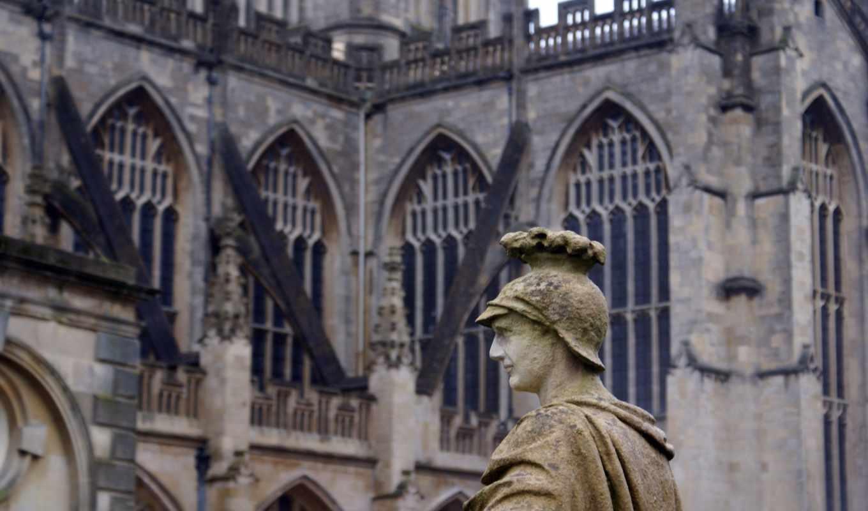 ванна, roman, abbey, great,