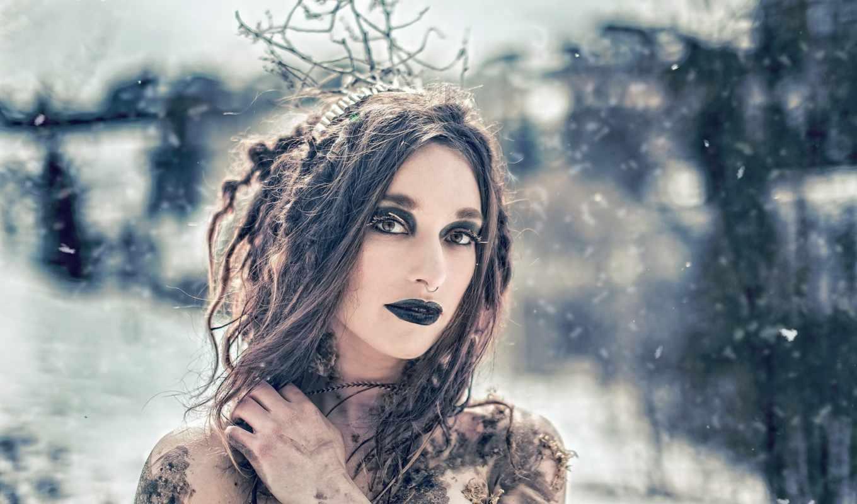witch, девушка, стиль, фантастика, смотреть, взгляд, праздник,
