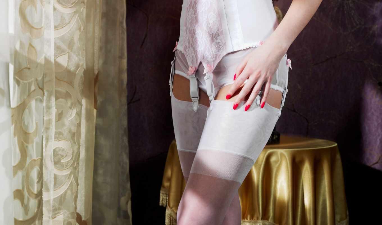 curtain, девушка, белье, часть, белое, коленях, интерьер, эротические, девушек, her,