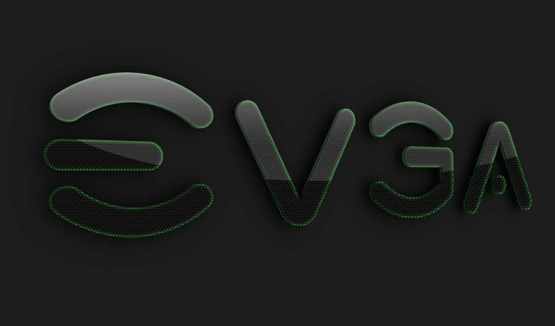 evga, лого, серый