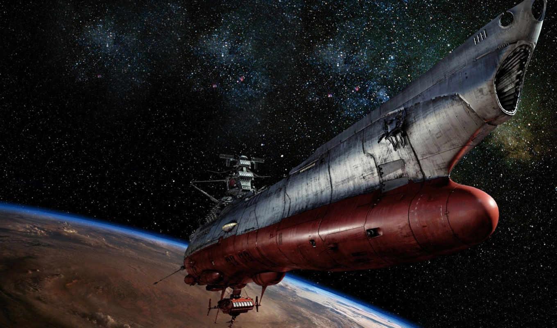космос, yamato, battleship, сюжет, корабль, фантастическом, cosmic, пластмассовые, лазеры, кретинские,