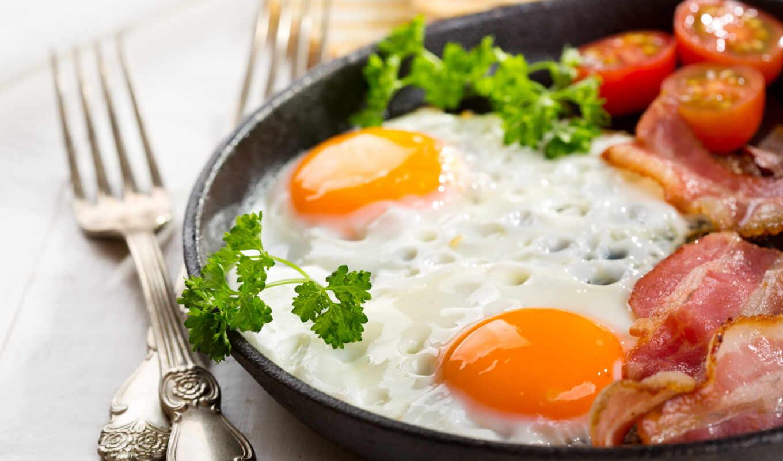 yaichnica, красивый, яйцо, завтрак, вкусно, блюдо