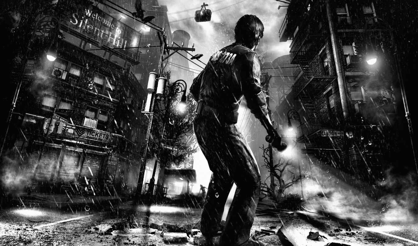 silent, hill, downpour, пендлтон, мёрфи, ливень, welcome,