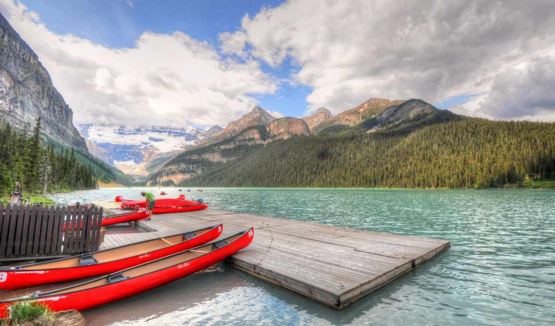 pictures, озеро, banff, park, national, горы, канада, new, день, ozero, every, louise, photos, kanada, les,