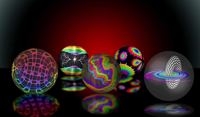 шарики, графика, год, праздники, еда, new, sweets, отражение,