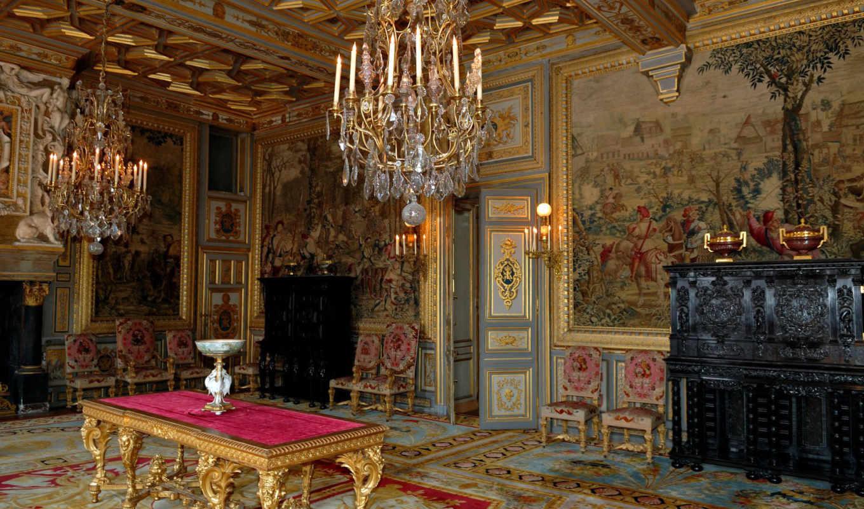 интерьеры, castle, интерьер, this, замка, henry, famous, покои, любил, который,