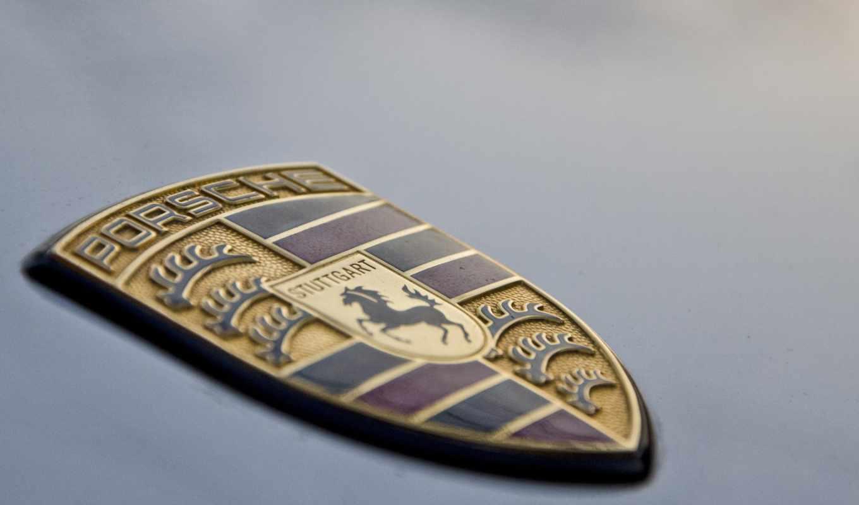 porsche, logo, значок, машины, порше, макро, лошади,