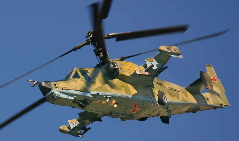 spacecraft, акула, вертолет, черная, shock, вертолета, одноместный, russian, Ка-50,