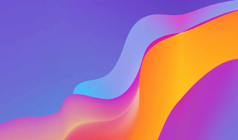 ,, пурпур, розовый, оранжевый, небо, фиалка, свет, пурпурный, линия,  графика,