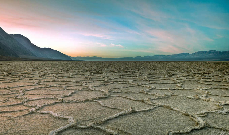смерти, долина, normal, лесу, wide, калифорния, usa, ложбинка, англ, смерть,