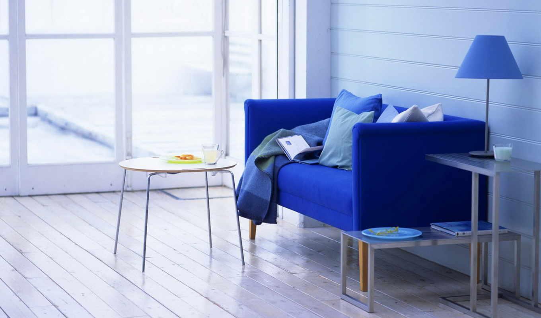 blue, интерьер, комната, design, color, квартира, комнат, комнаты, интерьере, картинка,