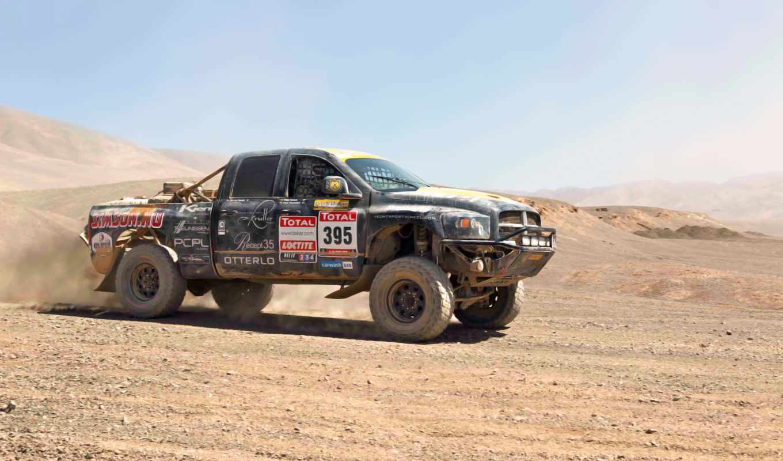 dodge, внедорожник, машины, додж, спорт, день, песок, ram, dakar, тепло, авто, rally,