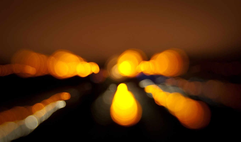 огни, ночь, силуэты, color, background, нравится,