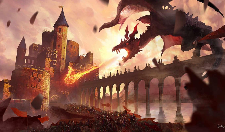pixiv, арт, hair, дракон, fantasía,