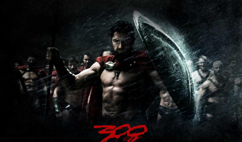 , постеры, фильм, щит, спартанцев, 300,