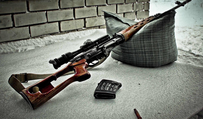 снайперская, винтовка, свд, драгунова, оптика, оружие, обойма, sniper, гильза, ремень, подушка, картинка,