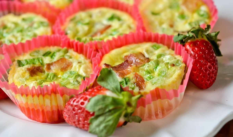 snack, кексы, allax, bacon, souffles, кексики, cup, muffin,