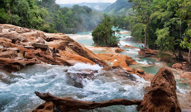 природа, водопады, mexico, iceland,