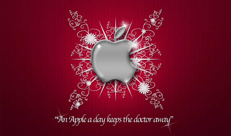 apple, доктор, далеко, keeps, день, ан, iphone,