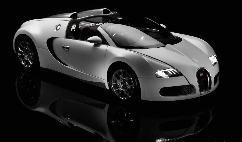 bugatti, veyron, вейрон, white, авто,