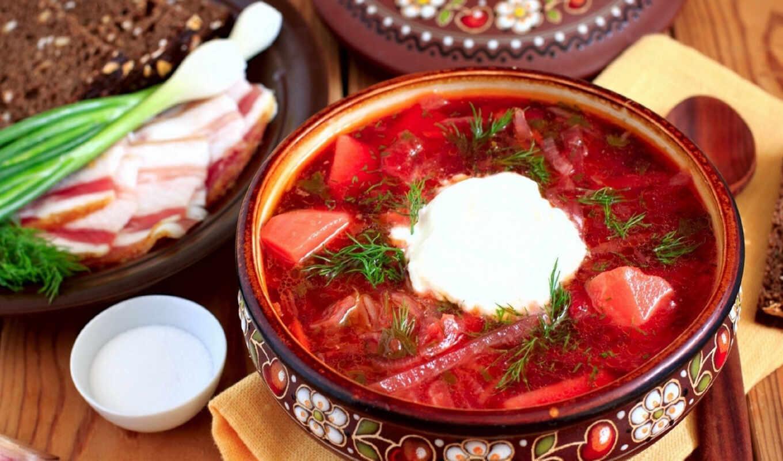 борщ, русская, блюдо, kitchen, ukrainian