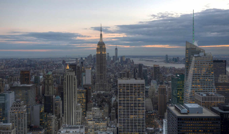 new, york, город, нью, usa, manhattan, building, империя,