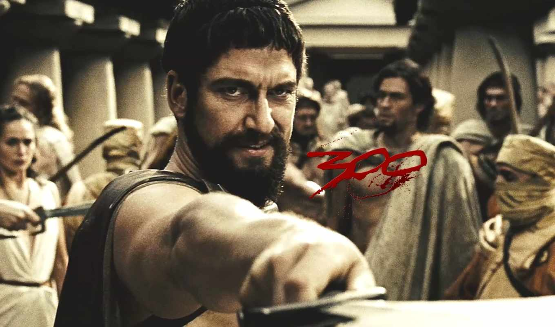 спартанцев, обои, quot, джерард, батлер, фильм, фи