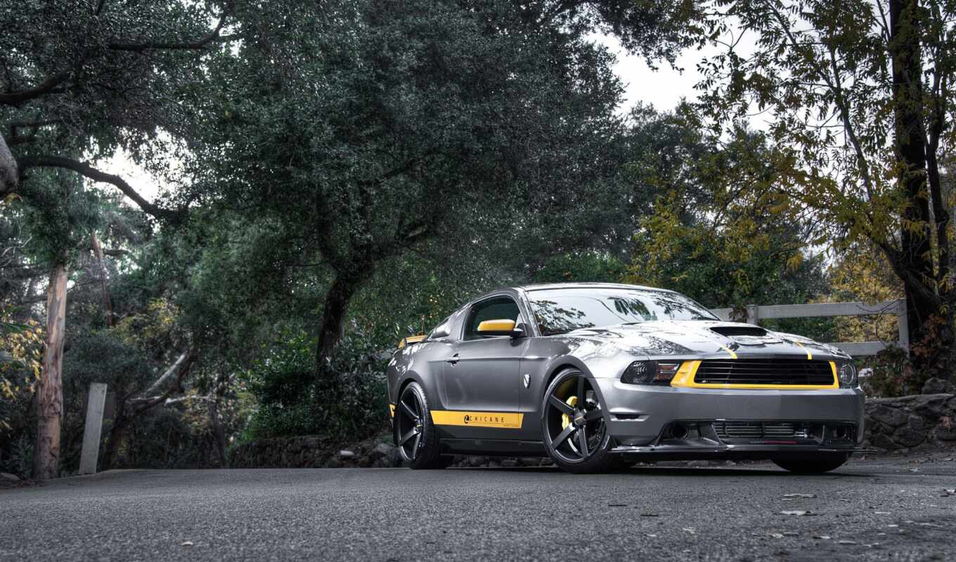 ford, mustang, muscle, кар, silvery, silver, только, daily, заставки,