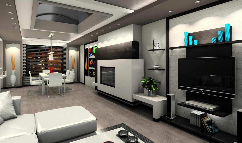 интерьер, design, современный, картинка, living, luxury, home, мебель, комната,