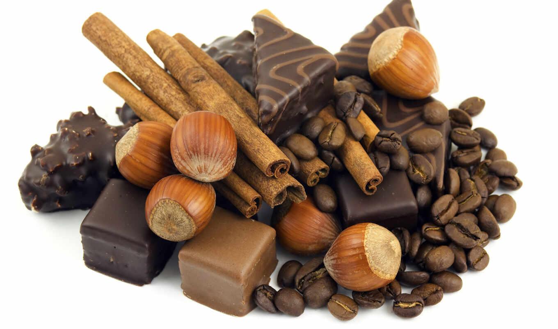 coffee, chocolate, прозрачный, bean, pischat, торт, вектор, milk, candy