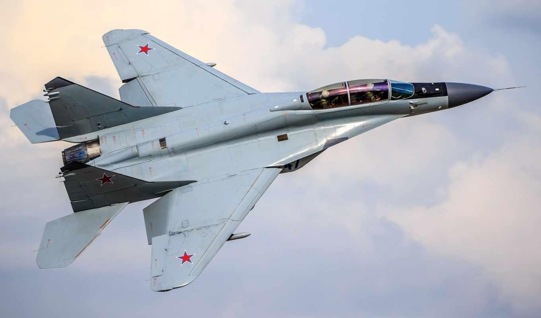 истребитель, МиГ-35, полет,небо