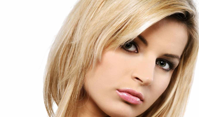 vzglyad, лицо, blondinka, зеленоглазая,
