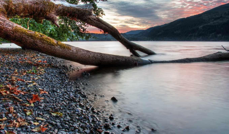 картинка, природа, cultus, озеро, побережье, water, канада, hdr, скалы,