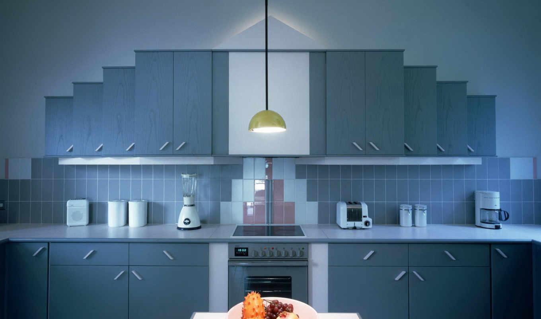 kitchen, синяя, кухни, интерьер, design, квартира, possible, color,,