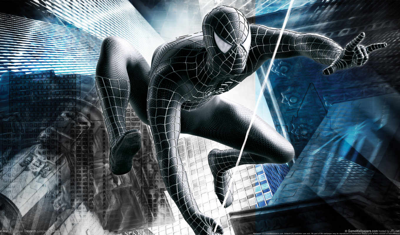 паук, мужчина, spiderman,
