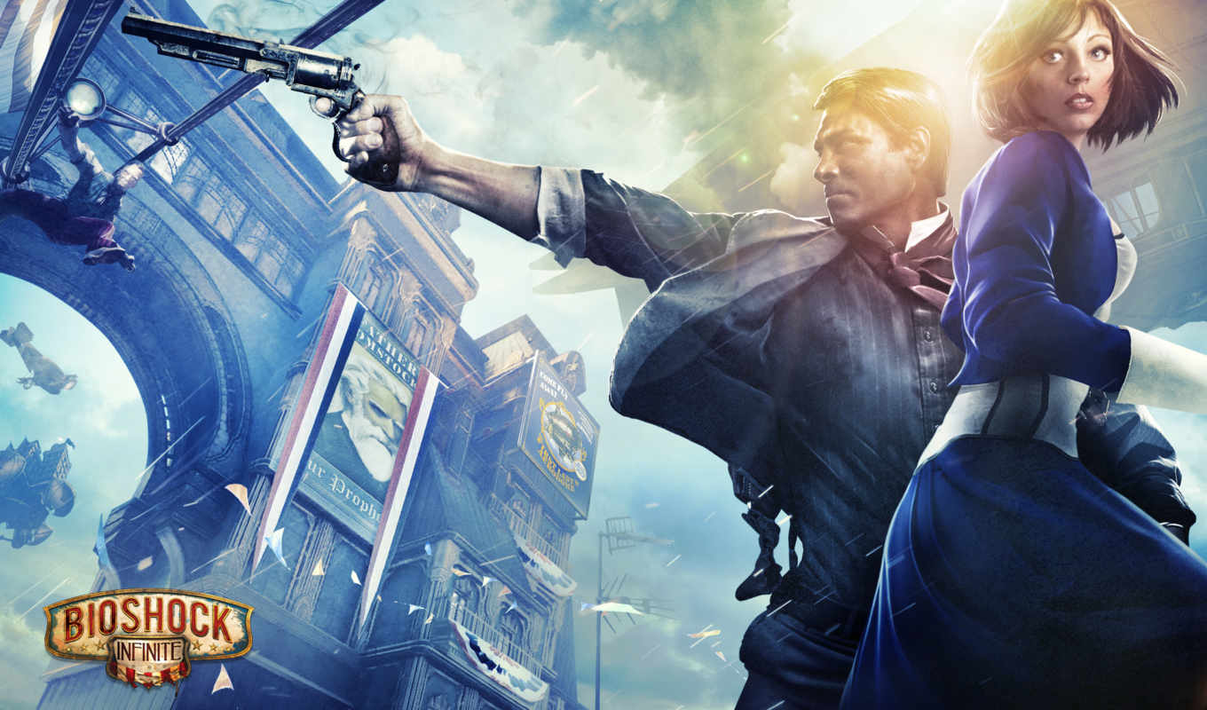 bioshock, infinite, games, irrational, игры,