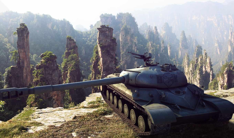 tanks, world, wot, арт, танк, ис-8,