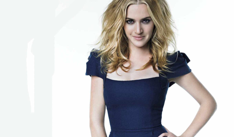 кейт, winslet, платье, blue,